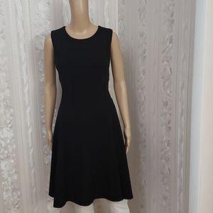 DKNY Sleeveless Flare Dress